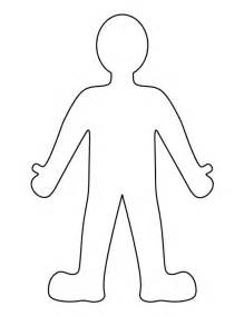 Cut Out Person Template by Person Pattern Use The Printable Outline For Crafts