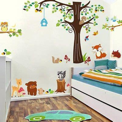 Kinderzimmer Zoo Gestalten by Die Besten 25 Wandtattoo Kinderzimmer Tiere Ideen Auf