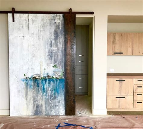 Painted Barn Doors Painted Barn Doors Barn Doors To Paint Or Not To Paint That Is The Question Jenallyson The