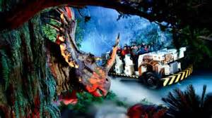 Animal kingdom dinosaur full on ride audio youtube
