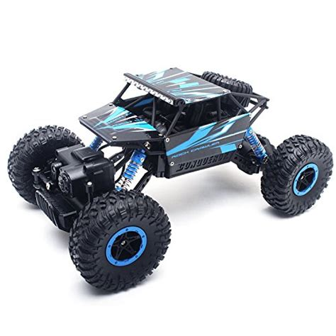 Rc Offroad Bigfoot Climber 4wd Rock Crawler 2 4 Ghz Biru rock crawler remote car rc depot
