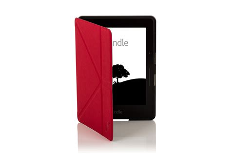Kindle Origami Cover - leather smart origami cover for kindle voyage