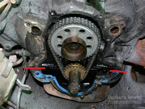 Seal Timing Cover M Kuda timing chain cover leak easiest way to replace