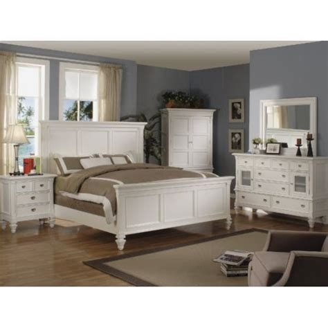 white king bedroom suite summer breeze white king panel bedroom suite hom