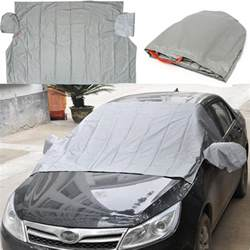 Car Cover Snow Shield Magnetic Car Windscreen Cover Anti Snow Cotton