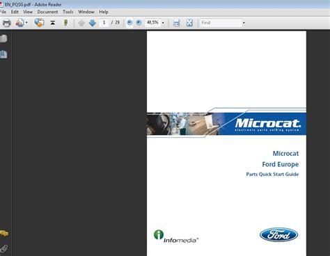 free download parts manuals 2013 ford c max hybrid user handbook ford europe microcat 2016 parts catalog