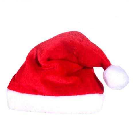 adult unisex festive christmas hat cap novelty santa party