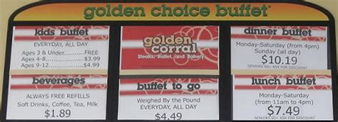 Golden Corral Specials For Kids Kids Matttroy Golden Corral Prices For Buffet