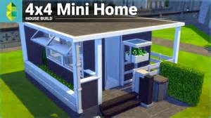 the sims 4 house building 4x4 mini home