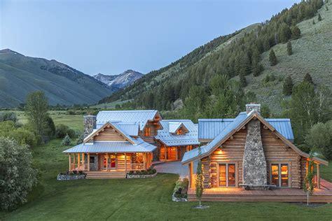 casa in montagna vendita lo splendido ranch tra le montagne dell idaho di steve