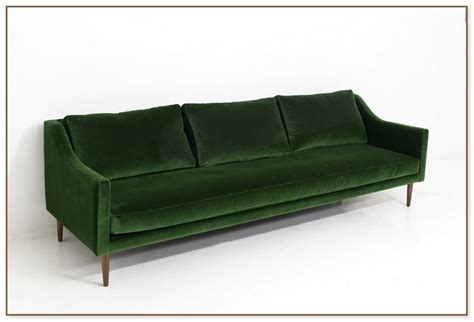 emerald green velvet sofa restoration hardware cloud sofa