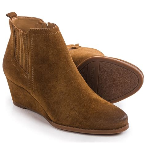 franco sarto welton wedge boots for save 74