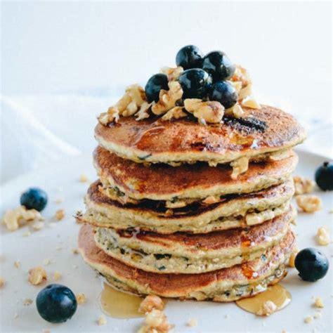 protein pancakes blueberry walnut protein pancakes get healthy u