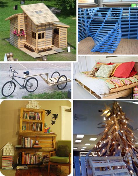 diy upcycling projects of upcycling 20 diy wood pallet reuse project ideas