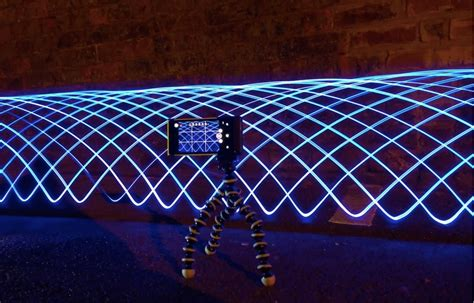 how to create light show nokia shows how to create amazing light paintings with