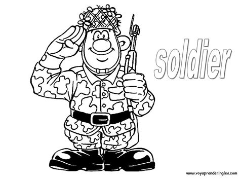 imagenes soldado ingles profesiones en ingl 233 s todo infantil