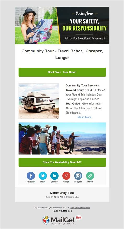 top 10 email templates 10 best travel email templates for tourism agencies formget