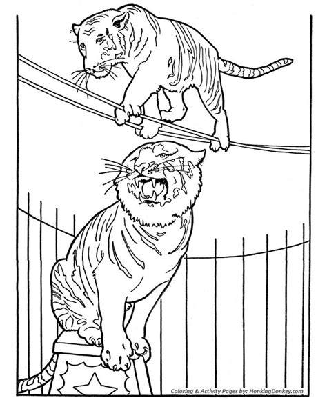tight wire coloring pages