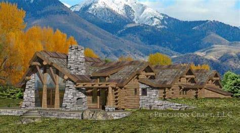 precisioncraft log timber homes the caribou log home caribou handcrafted log home floor plan