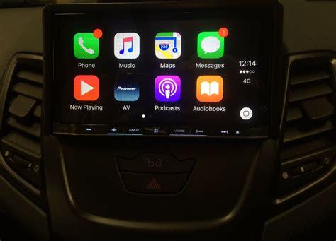 carplay installs pioneer avic fdab    ford