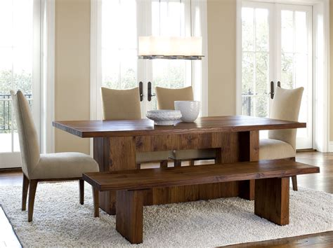 practical bench dining room sets  large families