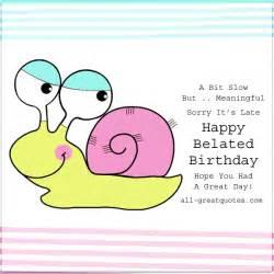 happy belated birthday cards gangcraft net