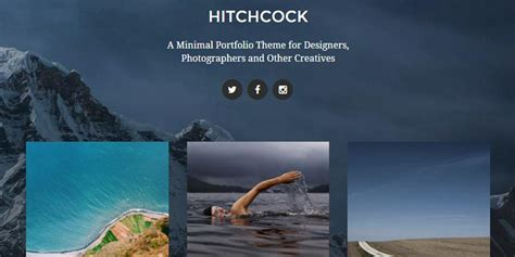 pelican themes gallery 50 free responsive photography wordpress themes utemplates