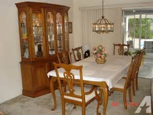 Dining Table And Chairs For Sale Hampshire Kincaid Solid Oak Formal Dining Room Set For Sale In Largo