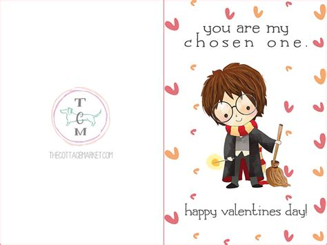 printable cards hp free printable harry potter valentine s day cards the