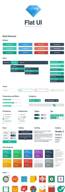 20 best free html css3 ui kits designmaz 25 best free html css3 ui kits designmaz