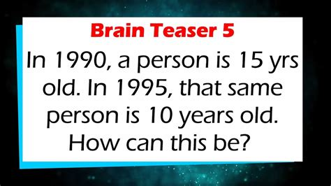 brain teasers brain teasers for and all