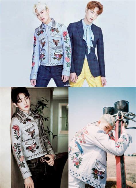 Jaket Motif Bunga Tranparan pakai jaket motif bunga lebih ganteng chanyeol jackson atau rap kabar berita