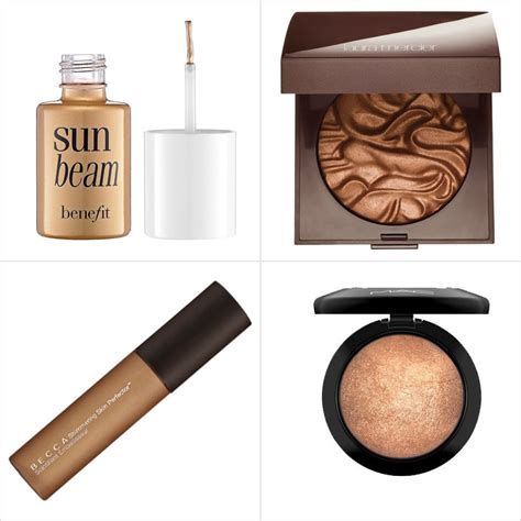 best highlighters best makeup highlighters for darker skin tones popsugar