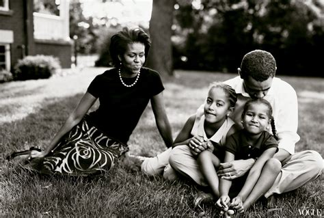obama first family four more years president barack obama vogue