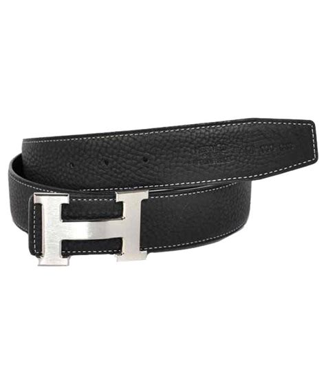 quality brands black leather belt buy at low price
