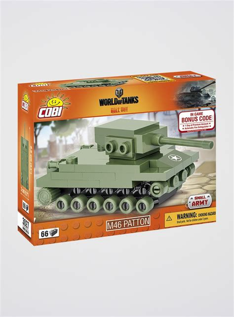 World Of Tanks Gift Card - world of tanks m46 patton nano tank cobi bricks
