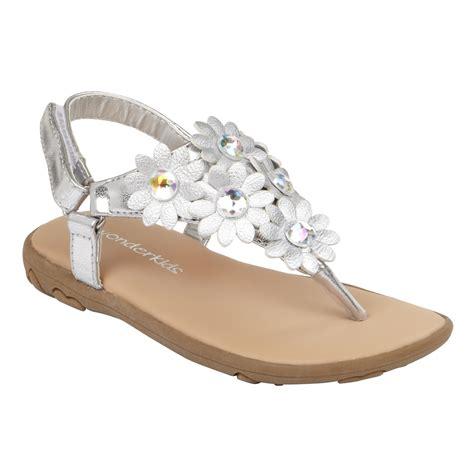silver toddler sandals wonderkids toddler s sandal silver