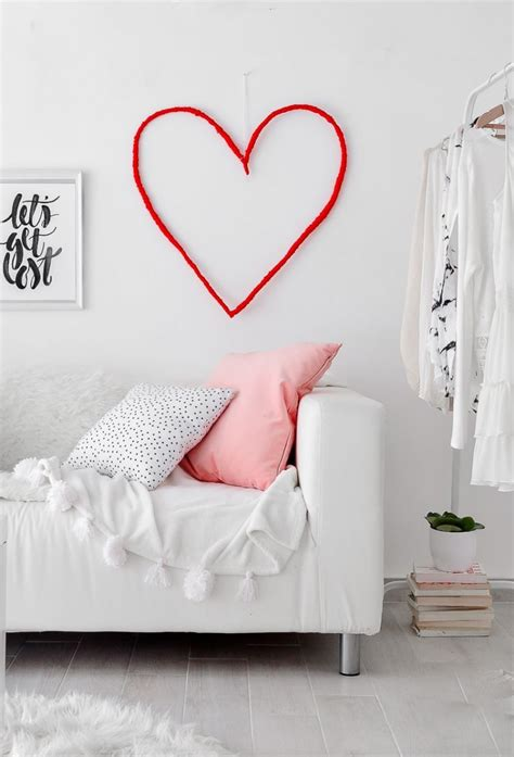 Diy String Wall - diy string wall for valentine s day shelterness