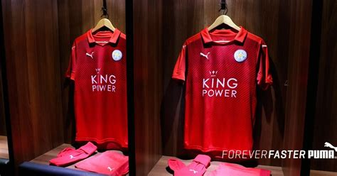 Leicester Home Leicester Away leicester city 16 17 away kit released footy headlines