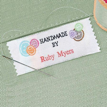 Handmade Sewing Labels - handmade by sewing labels current catalog