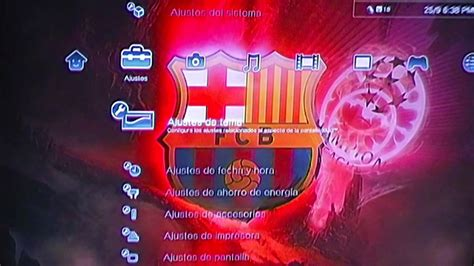 theme psp barca ps3 themes fcb dynamic theme youtube