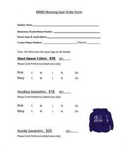 t shirt template pdf t shirt order form template 21 free word pdf format