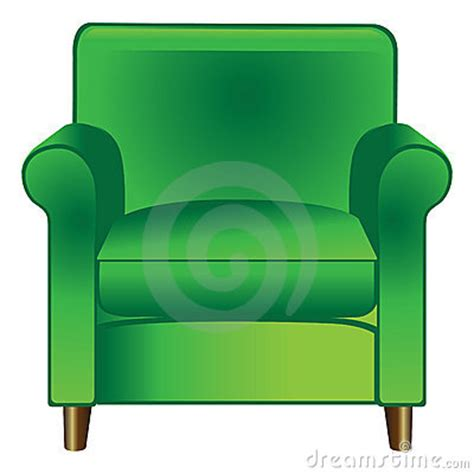 Chairs For Sitting Room - green chair royalty free stock photo image 15096145