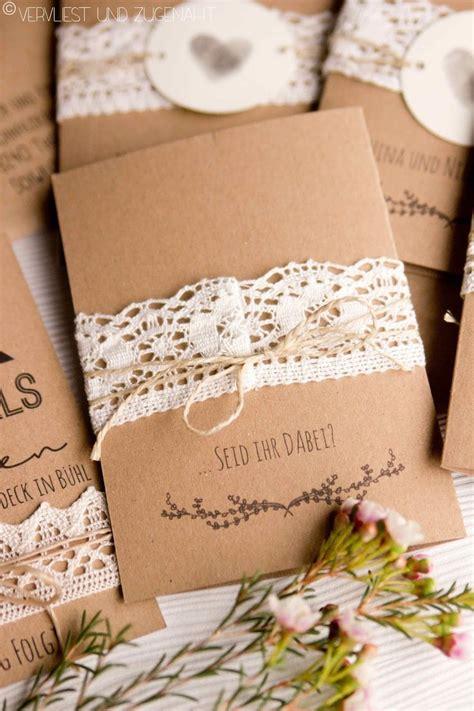 Hochzeitseinladung Mit Bild by 1000 Ideen Zu Kraftpapier F 252 R Hochzeit Auf
