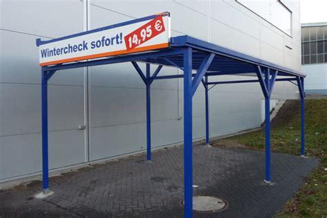 Garage Bausatz Massiv by Garagentore Rolltorsysteme Carport Rolloscout