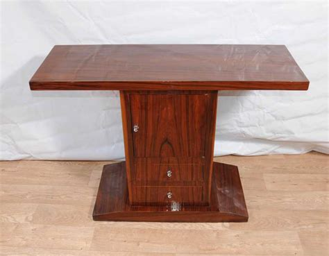 deco console table cabinet chest tables 1920s