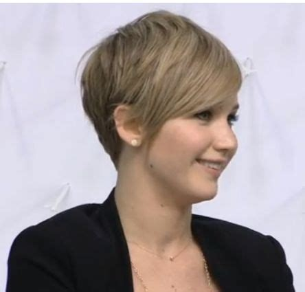 instructions for jennifer lawrece short haircut jennifer lawrence short hair style hairstyles