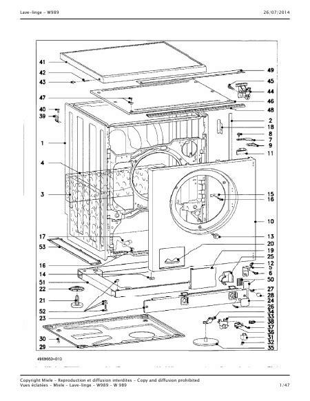 miele parts diagram miele parts diagram best free home design idea