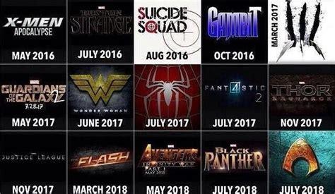 disney movie schedule 2017 comic book movie schedule 2015 2019 killing time