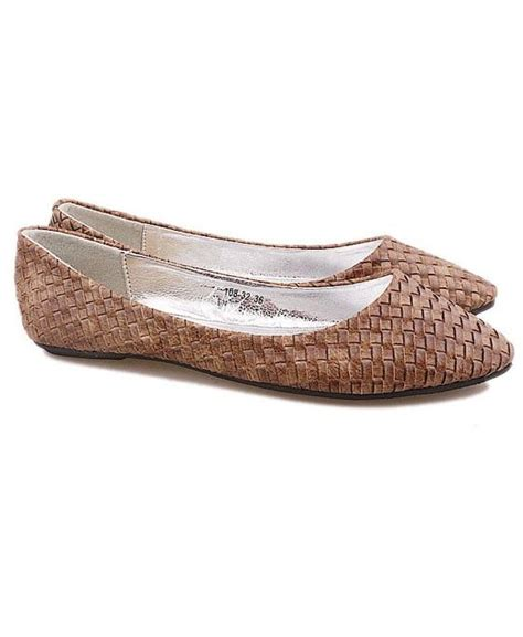 woven flat shoes brown woven flat shoes if were shoes i d wear you